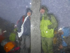 Mt Fuji Summit