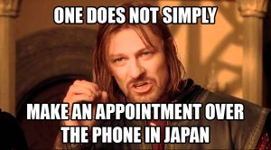 Making an Appointment in Japan
