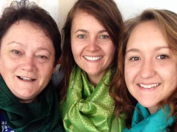 My mom, me and my sister.