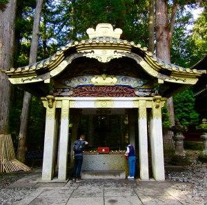 The temizuya pavilion (ceremonial hand washing) at Tōshō-gū Shrine