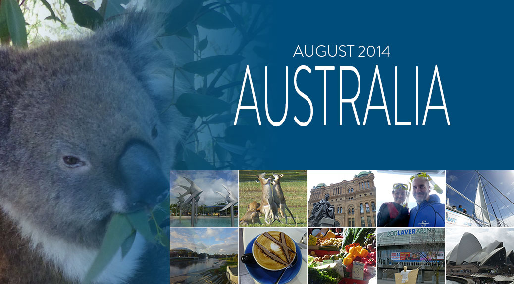 Posts about our August 2014 trip to Australia