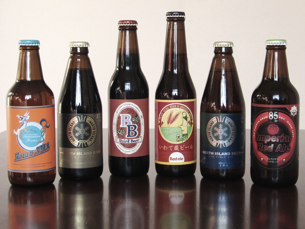 My collection of Japanese craft beer from the BeerTengoku free beer contest.