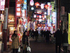 The colorful streets of Yokohama's Chinatown