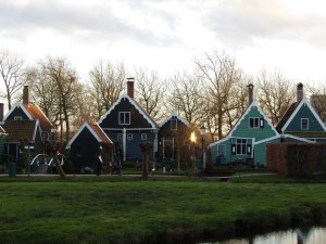 The old houses in the tourist village have mostly been imported from around the area beginning in the 1960s.