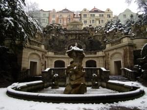 The Grotta in Havlíčkovy Sady.