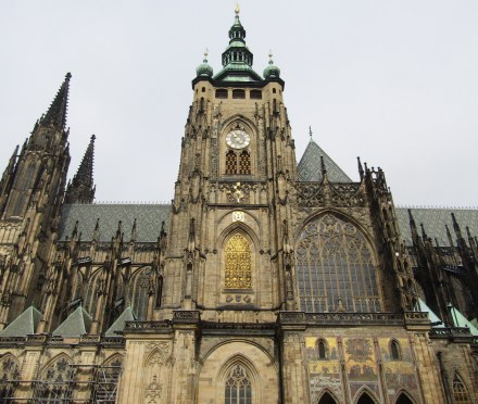 St. Vitas Cathedral at Prague Castle.