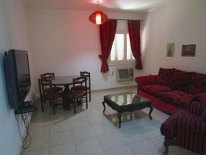 The living room of House 2