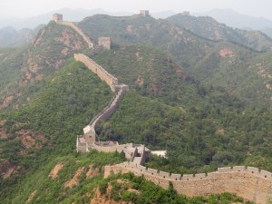 The Great Wall of China stretches on. How many guard towers can you spot?