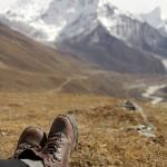 Hiking Looking at Feet