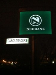 Casca solar luminated street name board