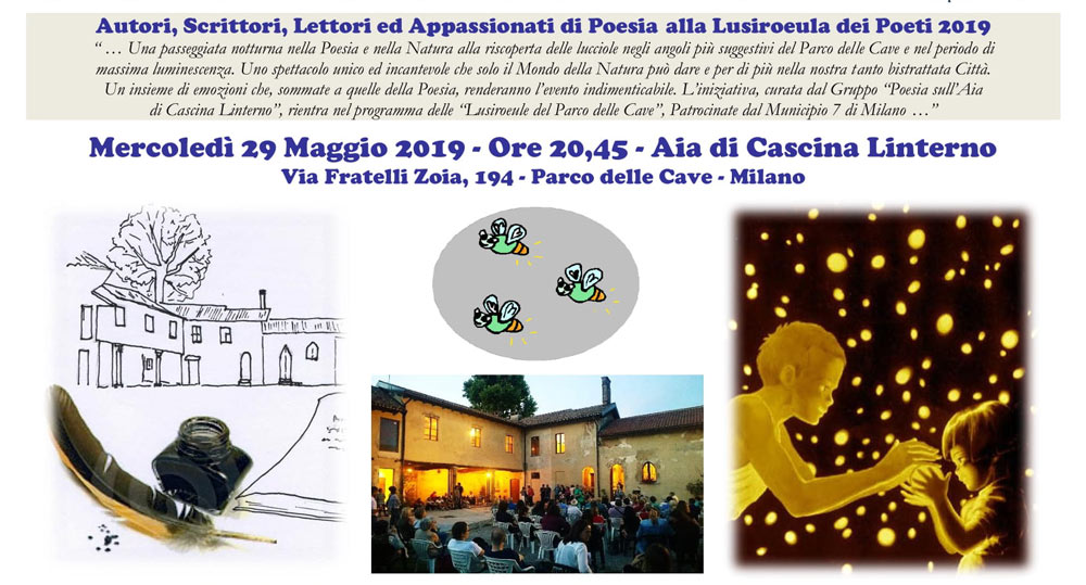 """29 maggio: """"La Lusiroeula dei Poeti"""" – Invito"""