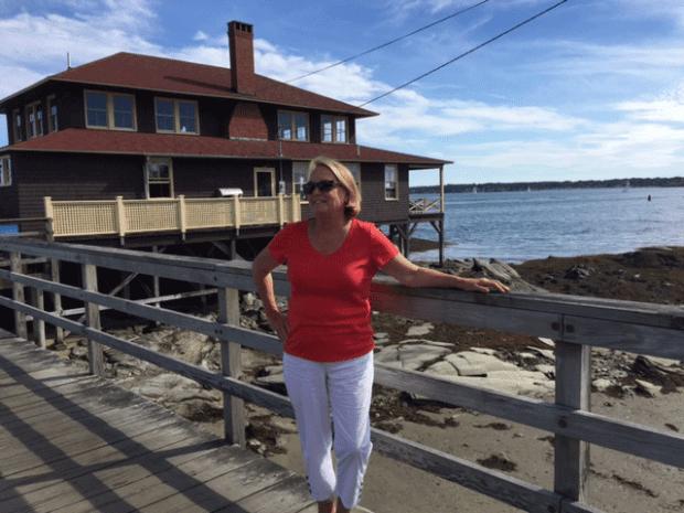 Althea McGirr at LIttle Diamond Island