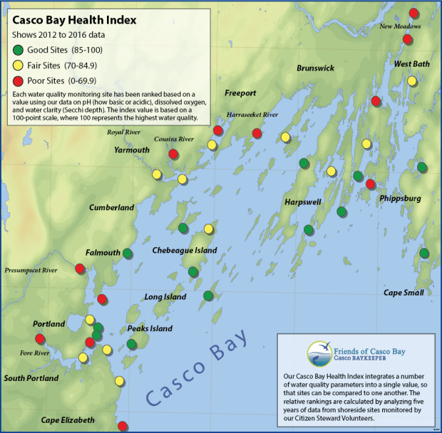 2016 Casco Bay Health Index
