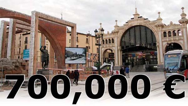 700,000€ en una obra estética, en tiempos de crisis.