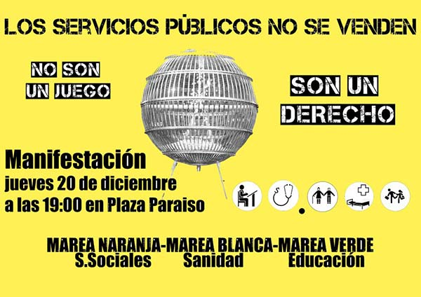Los servicios públicos no se venden