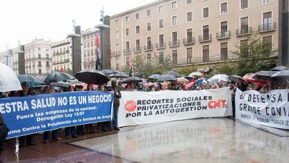 Manifestación Anti Recortes - Pivatización en Sanidad #17Mgzg