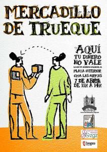 Mercadillo de Trueque en Zaragoza.