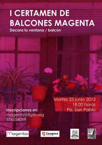 Balcones Magenta - LGTB