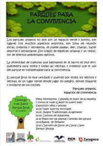 Parques para la convivencia 2013