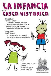 Infancia en el Casco Histórico de Zaragoza.