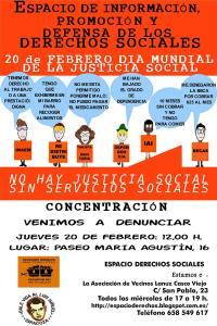 JUEVES 20 FEBRERO 12h CONCENTRACIÓN MAREA NARANJA ARAGÓN. ZARAGOZA
