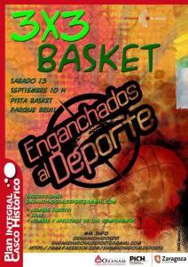Torneo de Baloncesto 3X3 de Enganchados al Deporte