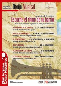Otoño Musical. Proyecto Musical en el Casco Histórico.