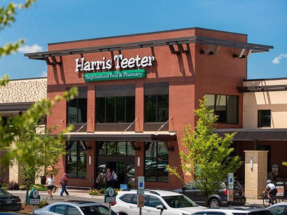 Harris Teeter store in Greenville, SC.