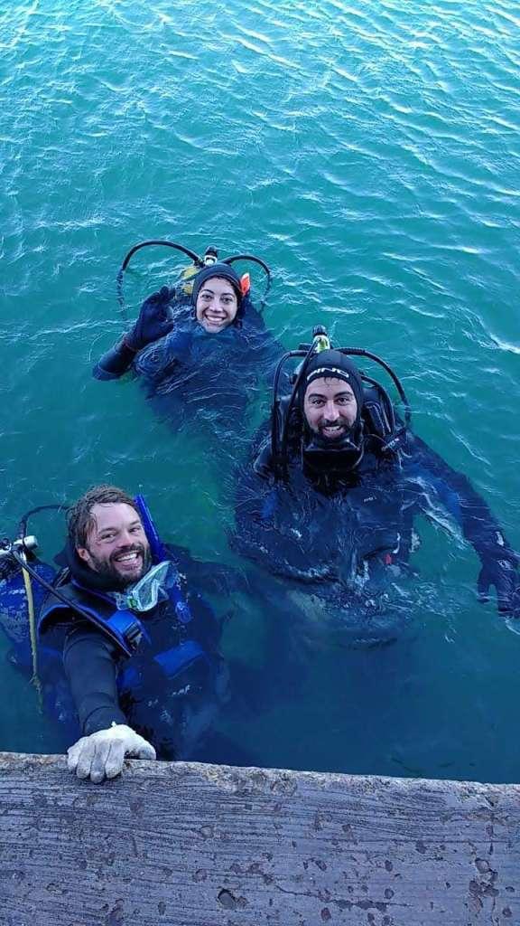 Buceando en toda Mar del Plata 1
