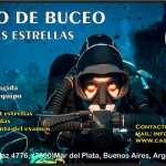 9-3, 21:30 hs.,Curso de Buceo Deportivo 3 Estrellas
