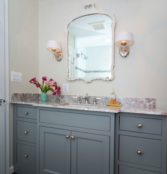 After photo of secondary bathroom
