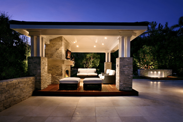 Outdoor Living Space Ideas | Case Design/Remodeling of San ... on Garden Living Space id=49698