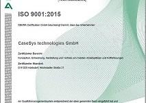 CaseSys Qualität verpflichtet