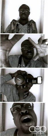 A filmstrip from the My EventSuite launch party of Casey Palmer