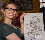 After Work Drinks Toronto 8 — #AWDTO — Anne with her caricature