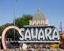 BiSC and Las Vegas 2013 — The Neon Museum — Sahara Sign