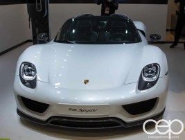 #FordNAIAS 2014 — Day 2 — Cobo Hall — North American International Auto Show — Porsche — Porsche 918 Spyder