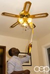 Swiffer Man Clean — Swiffer 360 Duster — Cleaning — Ceiling