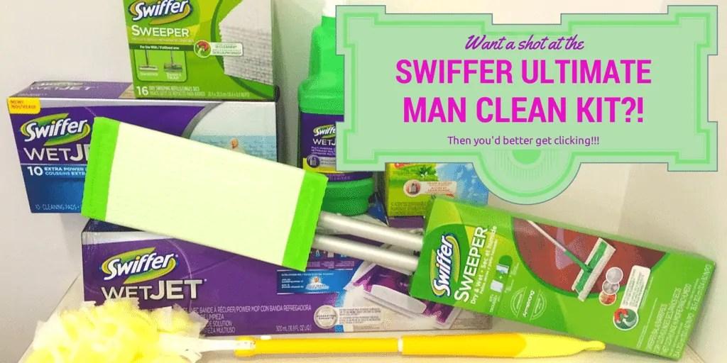 Swiffer Ultimate Man Clean Kit (Banner)