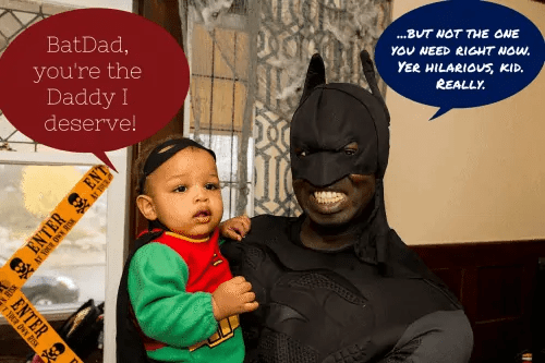 BatDad and the Baby Wonder