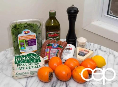 Persimon® Says — Persimon® and Chorizo Pizza — Ingredients