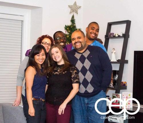 Team Trolling Christmas Family Photo 2014
