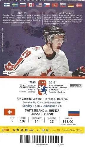 2015 IIHF World Junior Championship — Switzerland vs Russia