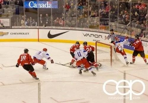 Chevrolet #WJCDrive — 2015 IIHF World Junior Championship — Russia vs Switzerland — Russia Shot on Net
