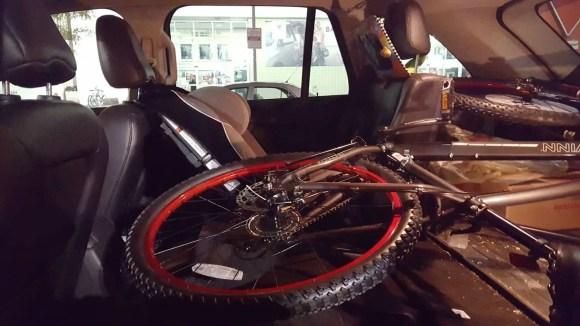 In It to Schwinn It — How the Biking Behemoth Got Me Back on Two Wheels! — Taking my Schwinn Onus Home in my 2011 Ford Edge