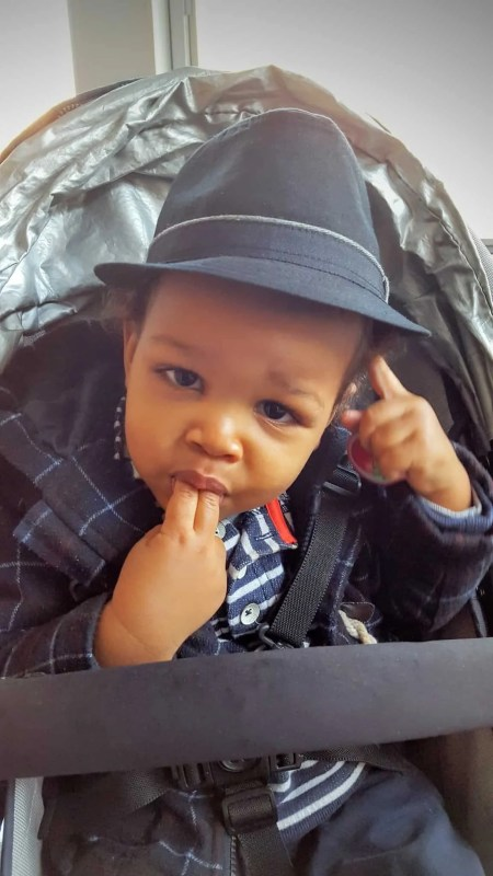 The Week That Was... October 4-10, 2015 — Little Man Styling and Profiling in His Fedora from The Children's Place