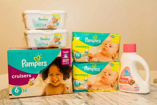 A Case Cringle Christmas, Day 3 — Celebrating the Holidays with Pampers' #PeaceOnEarth! — Pampers Baby Panel Prize Kit