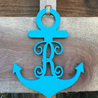 Anchor car charm
