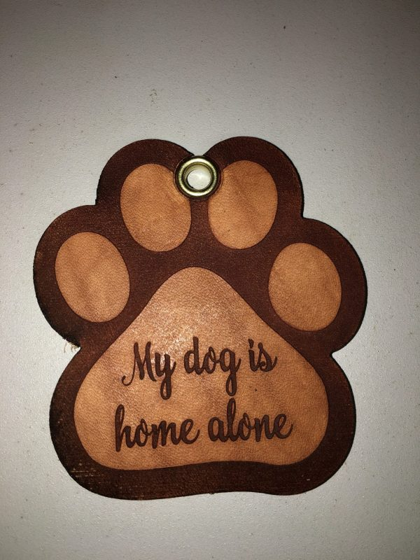 my pet is home keychain