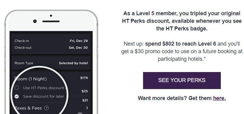 Hotel Tonight revamps HT Perks reward program    for the